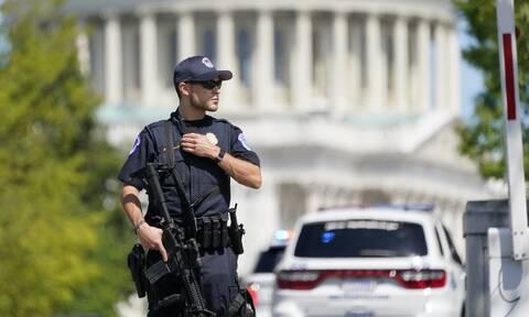 ΗΠΑ: Υπό κράτηση ο άνδρας που απειλούσε με βόμβα στο Καπιτώλιο