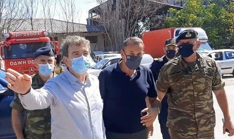Στον Έβρο Παναγιωτόπουλος – Χρυσοχοΐδης: Τα σύνορα της Ελλάδας θα μείνουν ασφαλή και απαραβίαστα