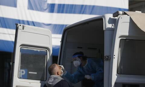 Κρούσματα σήμερα: 3.625 νέα ανακοίνωσε ο ΕΟΔΥ - 30 νεκροί σε 24 ώρες, στους 296 οι διασωληνωμένοι