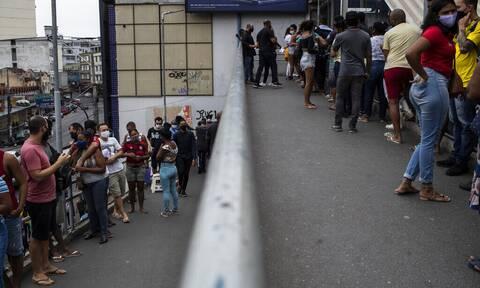 Κορονοϊός στη Βραζιλία: 870 θάνατοι και 33.887 κρούσματα σε 24 ώρες
