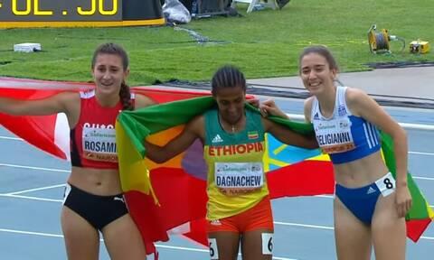 Στίβος: «Χάλκινη» η Δεληγιάννη! Τρομερή εμφάνιση στο Παγκόσμιο Πρωτάθλημα Κ20 (vid)