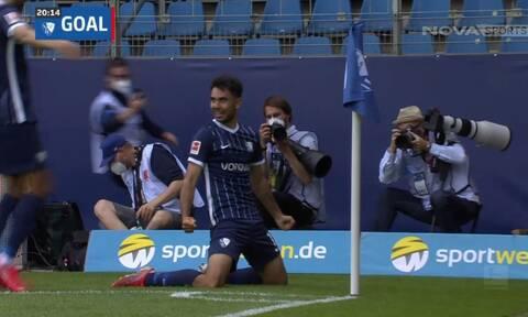 Bundesliga: «Ντύθηκε» Μέσι ο Χόλτμαν! Πέρασε όποιον βρήκε μπροστά του και σκόραρε (video)