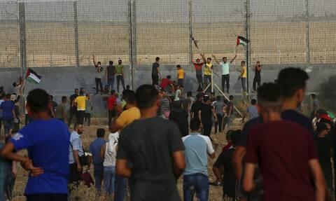 Αιματηρή νύχτα στη Γάζα: 41 Παλαιστίνιοι τραυματίσθηκαν από ισραηλινά πυρά
