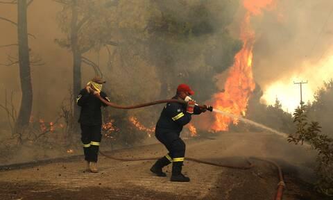 Ακραίος κίνδυνος πυρκαγιάς σήμερα: Σε κατάσταση συναγερμού Αττική και Εύβοια