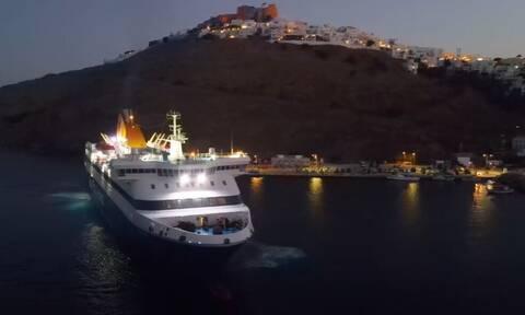 Blue Star Chios: «Μαεστρική» μανούβρα και δέσιμο στην Αστυπάλαια