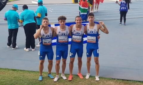 Στίβος: Πανελλήνιο ρεκόρ στα 4Χ100! Θετικό φινάλε στο Παγκόσμιο Πρωτάθλημα Κ20 (vid)