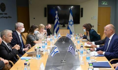 ΥΠΕΞ Ισραήλ: Ρεαλιστική και με προοπτική η συμμαχία με Ελλάδα και Κύπρο – Μπαράζ επαφών από Δένδια