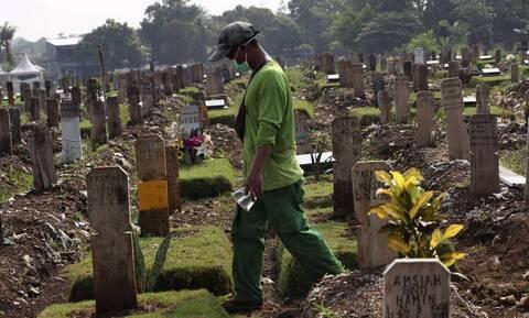 Κορονοϊός: 1.030 θάνατοι και 12.408 κρούσματα το προηγούμενο 24ωρο στην Ινδονησία