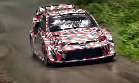 Δείτε τις δοκιμές του εκπληκτικού Toyota Yaris WRC του 2022