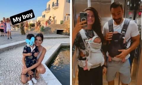 Οι αναρτήσεις που έκαναν οι διάσημοι γονείς με τα παιδιά τους το Σαββατοκύριακο