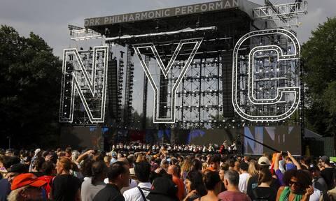 Νέα Υόρκη: Διακόπηκε συναυλία με 60.000 θεατές λόγω του κυκλώνα Χένρι