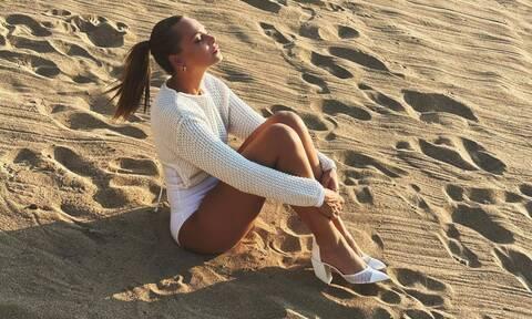 Υβόννη Μπόσνιακ: Δείχνει το πρόσωπο της κόρης της για πρώτη φορά