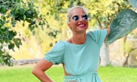 Μαρία Μπεκατώρου: Ποζάρει με μαγιό και τα κιλά που έχει χάσει φαίνονται πολύ (photos)
