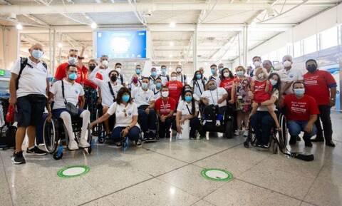Κωτσόβολος: Μετέφερε ευχές του κοινού στην Ελληνική Παραολυμπιακή Ομάδα πριν την αναχώρηση για Τόκιο