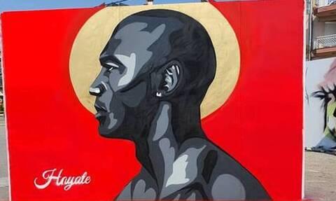 Μετά τους Μαραντόνα και Αντετοκούνμπο, μυθικό γκράφιτι και για Τζόρνταν στην Ελλάδα