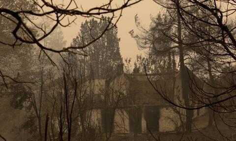 Φωτιές στην Ελλάδα: Ξεκίνησαν έλεγχοι σε Βίλια και Λαυρεωτική