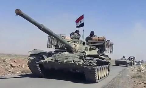 ΟΗΕ: Πάνω από 38.000 εκτοπισμένοι μέσα σε ένα μήνα μαχών στη Ντεράα της Συρίας
