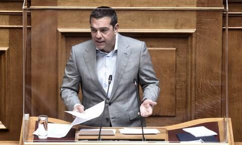 ΣΥΡΙΖΑ: Με προτάσεις για τους πυρόπληκτους αλλά και κριτική στο επιτελικό κράτος ο Τσίπρας στη Βουλή