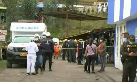 Τραγικό δυστύχημα στην Κολομβία: 12 νεκροί από έκρηξη σε παράνομο ανθρακωρυχείο