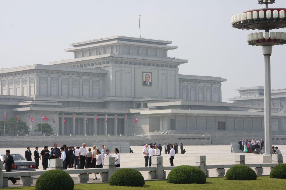 Kumsusan Memorial Palace Pyongyang