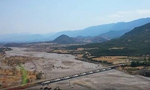 Στέρεψε ο Πηνειός σε μήκος 25 χιλιομέτρων - «Η φύση μας προειδοποιεί», λέει ο Περιφερειάρχης