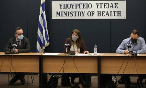 Κορονοϊός: Δείτε LIVE την ενημέρωση από το υπουργείο Υγείας