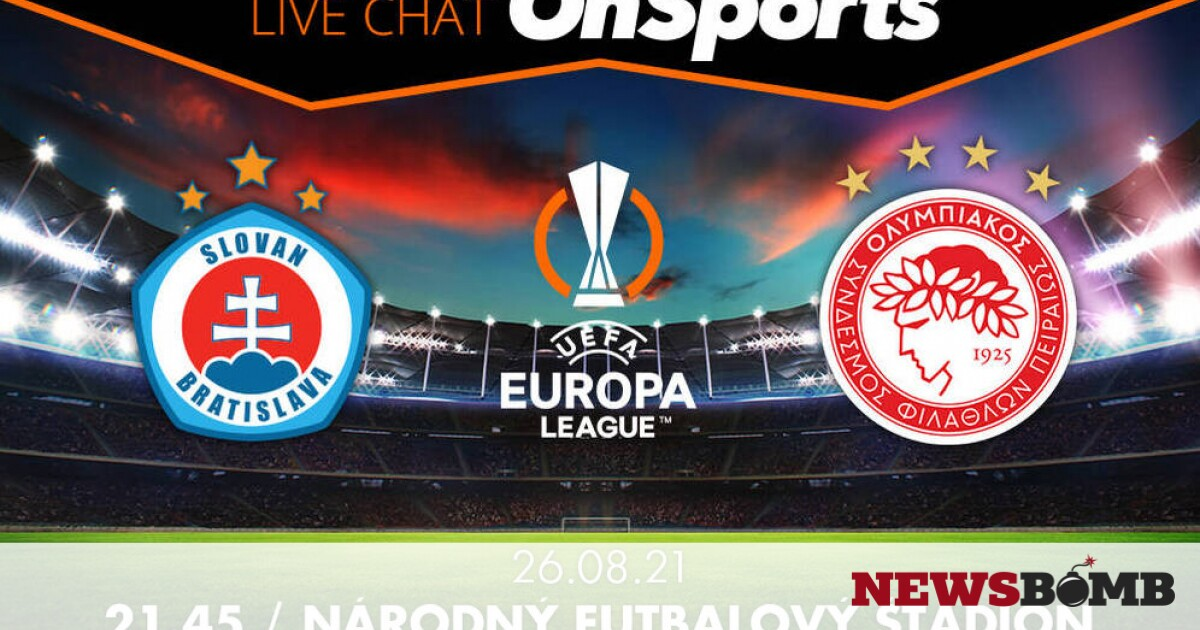 facebookSlovanBratislava Olympiakos live