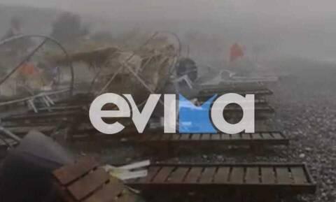 Σάρωσαν τη μισή χώρα οι ισχυρές καταιγίδες - Πολλά προβλήματα και ζημιές