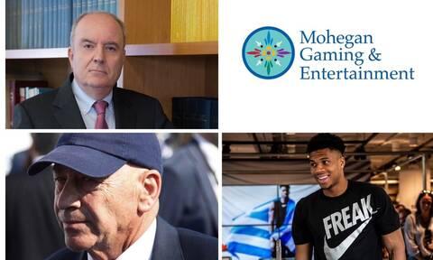 Η αγωγή του Giannis στη Νέα Υόρκη, η Mohegan για το Ελληνικό και η επιτυχία του Γιώργου Περιστέρη