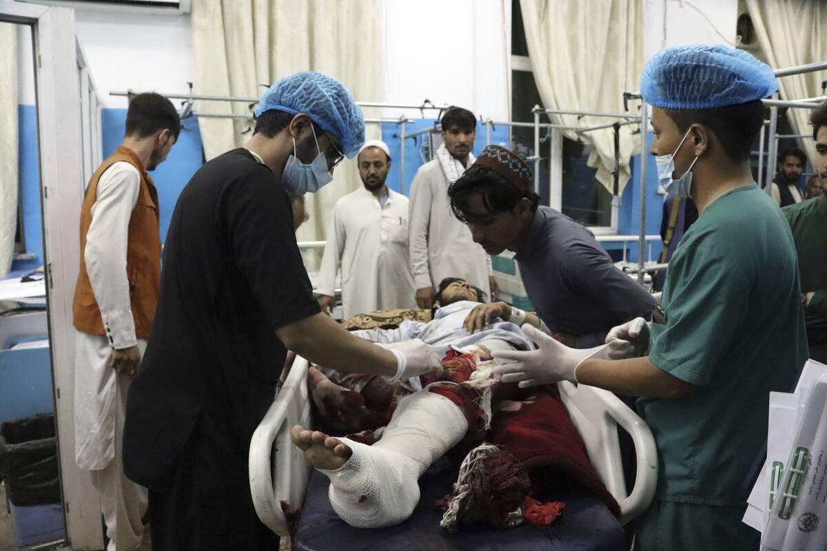Εικόνες οδύνης στο Αφγανιστάν