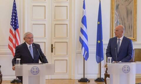 US Senator Menendez: Greece is an ideal partner for the US