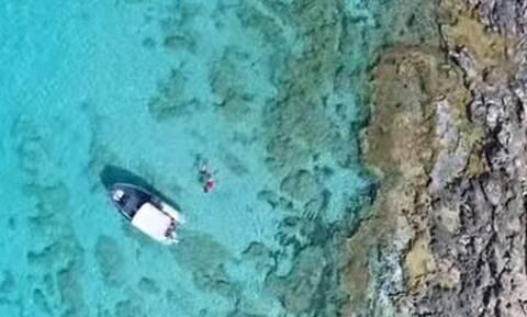 Εντυπωσιακό βίντεο από drone αποκαλύπτει μια «μικρή Καραϊβική» στην Αργολίδα