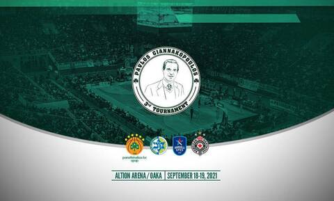 Τουρνουά «Παύλος Γιαννακόπουλος»: Στο ΟΑΚΑ στις 18-19 Σεπτεμβρίου η 3η διοργάνωση