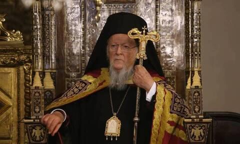 Πατριάρχης Βαρθολομαίος: «Σεβόμαστε την επιστήμη, να εμβολιαστούν όλοι χωρίς επιφυλάξεις»