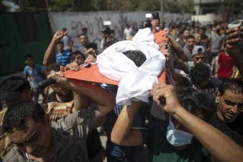 Γάζα: Ισραηλινά μαχητικά αεροσκάφη έπληξαν στόχους της Χαμάς
