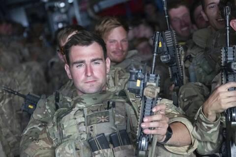 Βρετανοί στρατιώτες  Αφγανιστάν Καμπούλ Μπόρις Τζόνσον