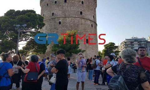 Θεσσαλονίκη: Συγκέντρωση διαμαρτυρίας κατά του υποχρεωτικού εμβολιασμού
