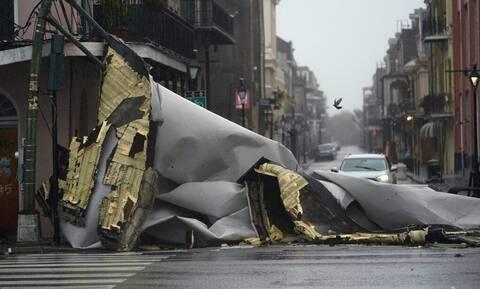 Τυφώνας Άιντα: Χωρίς ρεύμα ολόκληρη η Νέα Ορλεάνη – Σοβαρές ζημιές στο δίκτυο ηλεκτροδότησης