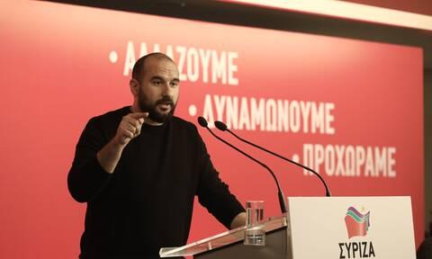 Τζανακόπουλος: Κανένας ανασχηματισμός δεν θα βγάλει τον Μητσοτάκη από το πολιτικό του αδιέξοδο
