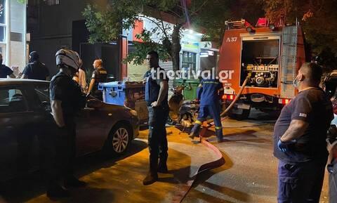 Θεσσαλονίκη: Φωτιά σε διαμέρισμα – Απεγκλωβίστηκε ζευγάρι ηλικιωμένων