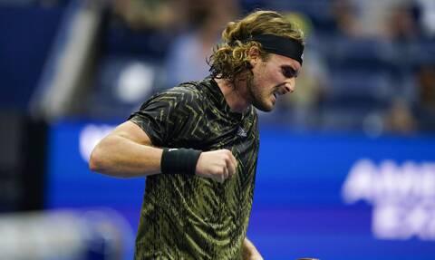 US Open: Πρόκριση με ανατροπή για τον Στέφανο Τσιτσιπά, 3-2 σετ τον Μάρεϊ