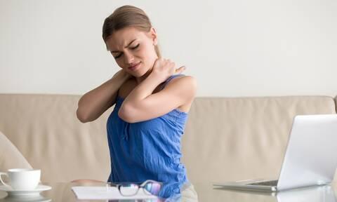 Αυχενικό σύνδρομο: 6 τρόποι πρόληψης (εικόνες)