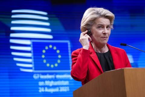 Φον Ντερ Λάιεν: Το 70% των ενηλίκων στην ΕΕ είναι πλήρως εμβολιασμένο