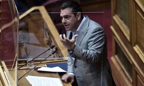 «Ευθύνη Μητσοτάκη τόσο οι πυρκαγιές, όσο και η πολιτική ένταση», λένε στον ΣΥΡΙΖΑ