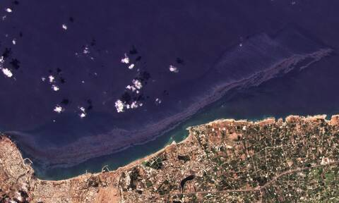 Kύπρος: Σε συναγερμό οι Αρχές καθώς πετρελαιοκηλίδα από τη Συρία εξαπλώνεται στη Μεσόγειο