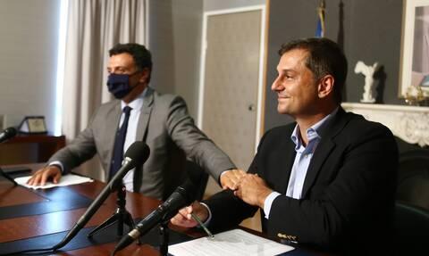 Παράδοση παραλαβή στο Υπουργείου Τουρισμού: «Παραδίδω το Brand Ελλάδα πιο δυνατό από ποτέ»