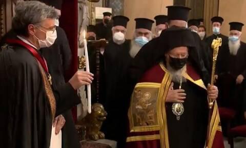 Σωτήρης Τσιόδρας: Χειροθετήθηκε Άρχοντας Οφφικιάλιος από τον Οικουμενικό Πατριάρχη
