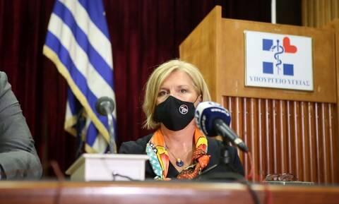 Μίνα Γκάγκα: Πρώτη ημέρα στο Υπουργείο Υγείας - Τι δήλωσε