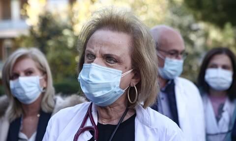 Παγώνη: Τεταμένη η ατμόσφαιρα στα νοσοκομεία - Έκκληση στους υγειονομικούς να εμβολιαστούν