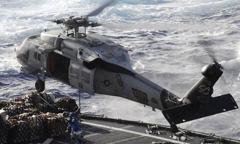 ΗΠΑ: Συντριβή ελικοπτέρου του ναυτικού στα ανοιχτά του Σαν Ντιέγκο